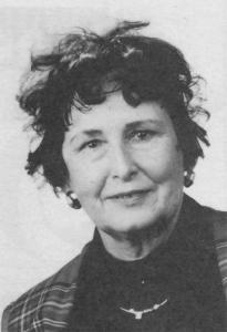 Ilse Flötenmeier 1993. Stadträtin und Stadtverordnete OBG Oberurseler Bürgergemeinschaft