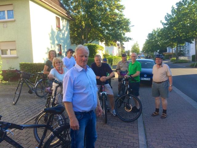 OBG Besichtigung Radwege