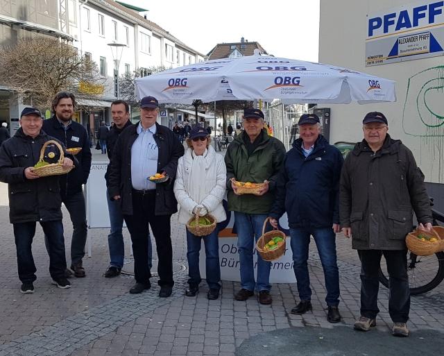 OBG verteilt Ostereier