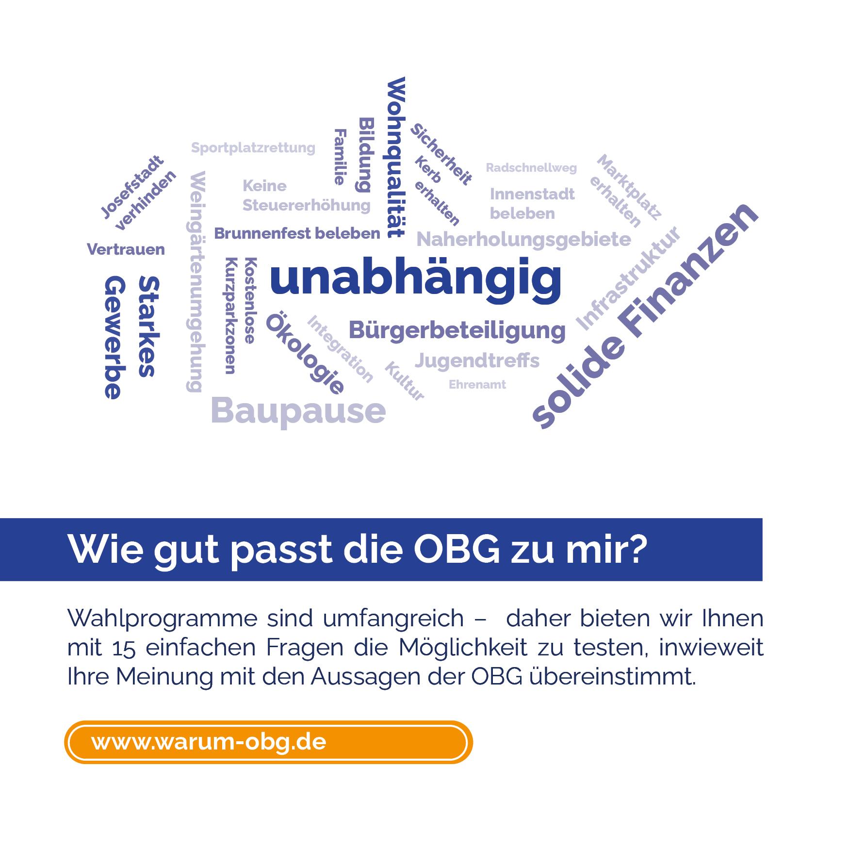 OBG-Wahlplattform